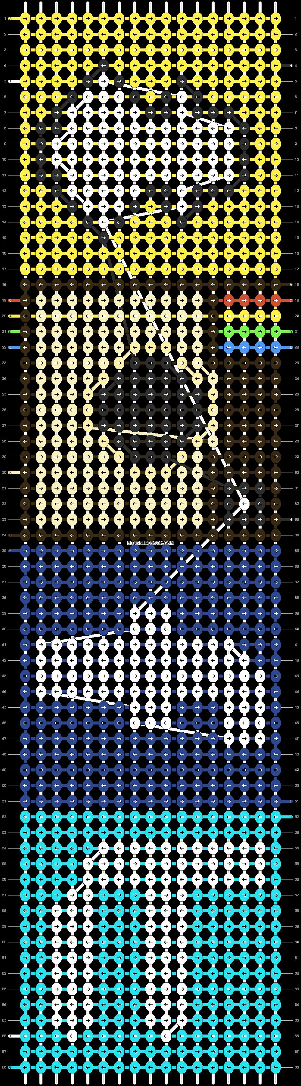 Alpha pattern #12413 pattern