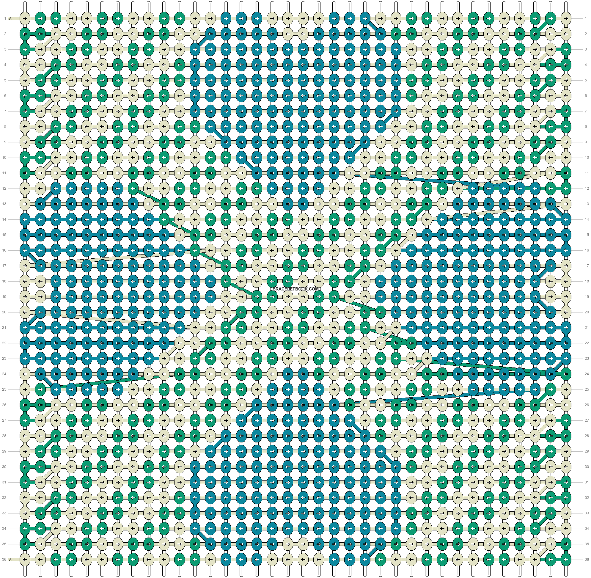Alpha pattern #12416 pattern