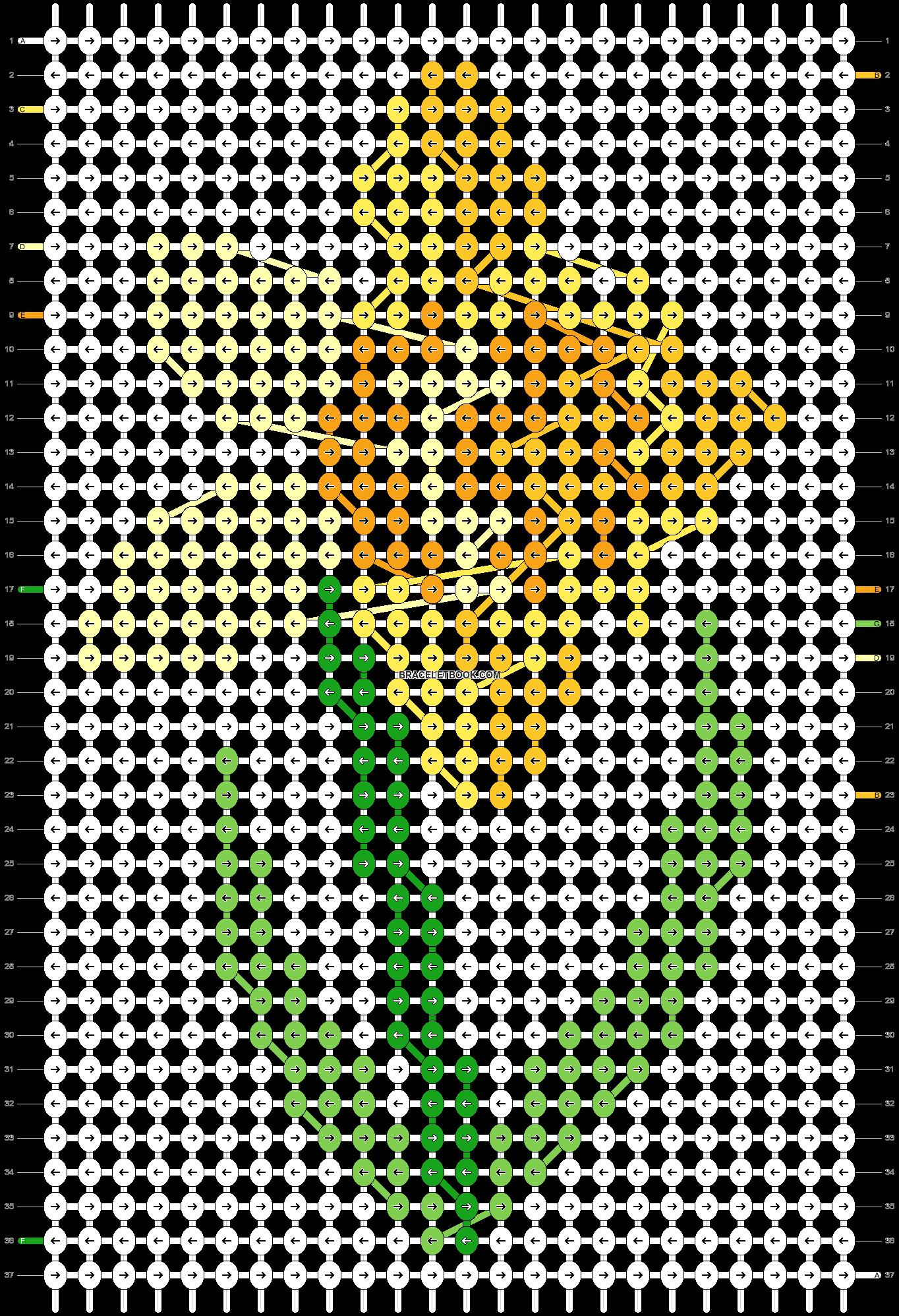 Alpha pattern #12422 pattern