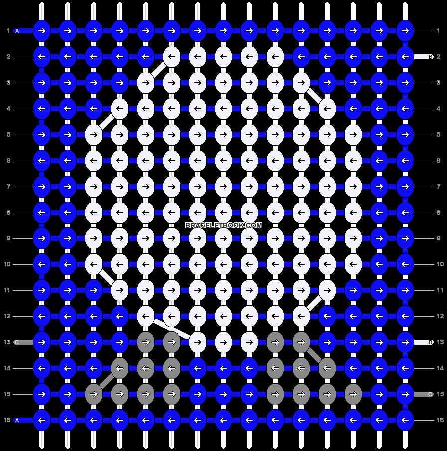 Alpha pattern #12423 pattern