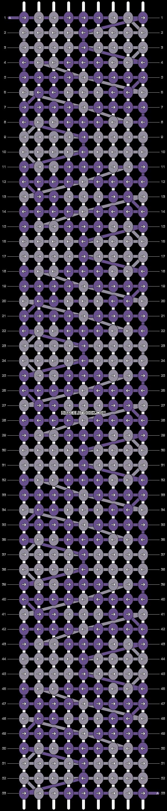 Alpha pattern #12424 pattern