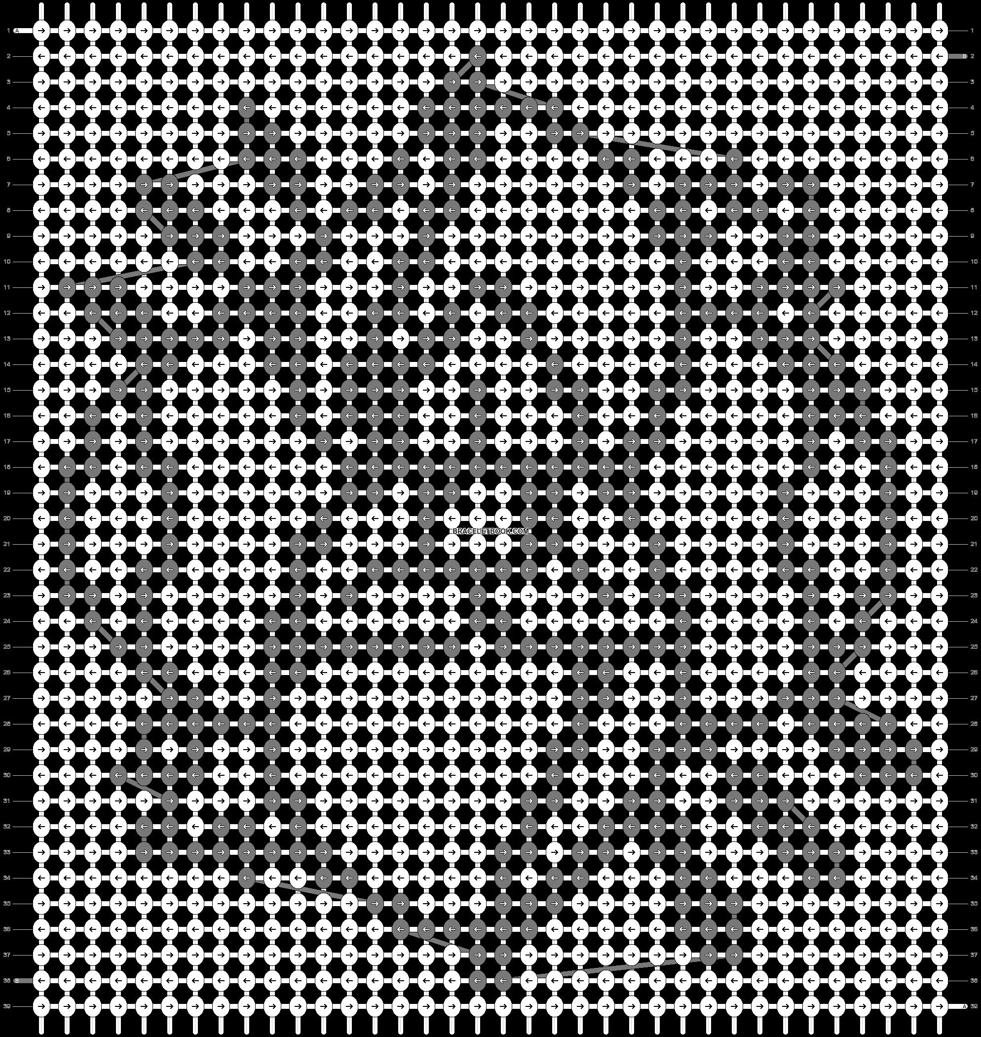 Alpha pattern #12432 pattern