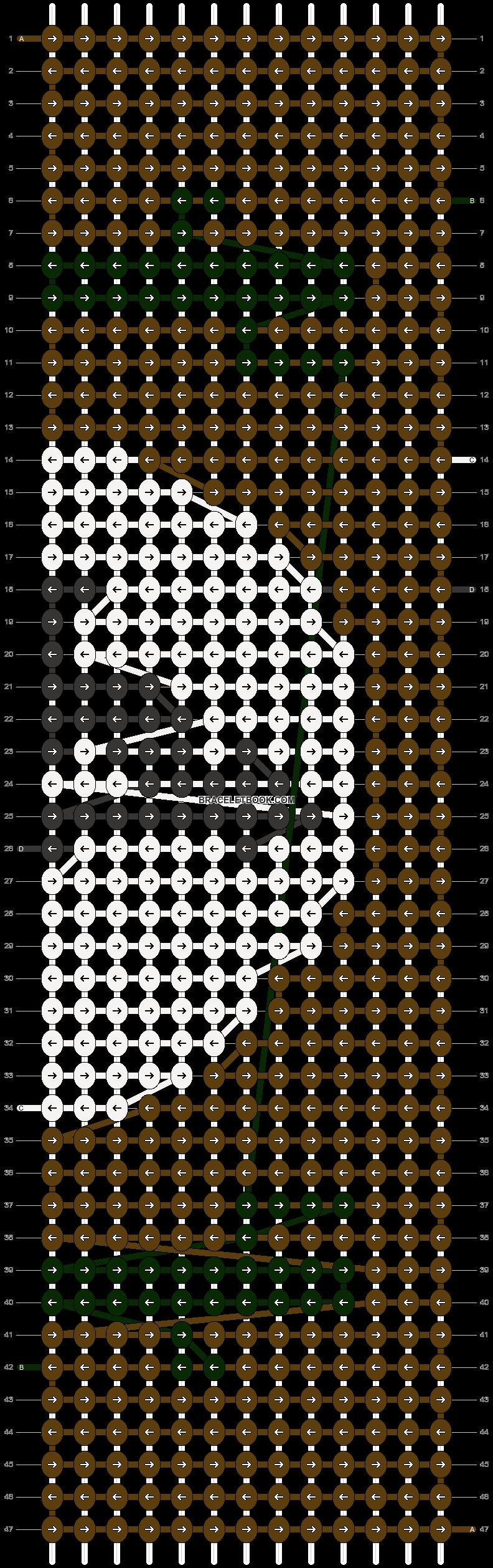 Alpha pattern #12438 pattern