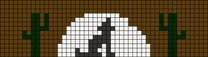 Alpha Friendship Bracelet Pattern #12438