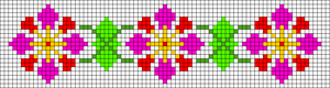 Alpha Friendship Bracelet Pattern #12439