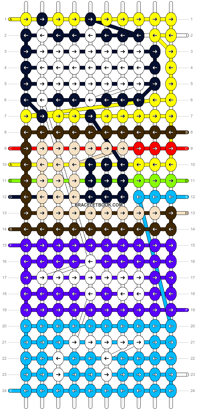 Alpha pattern #12440 pattern