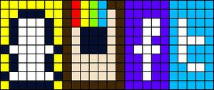 Alpha pattern #12440
