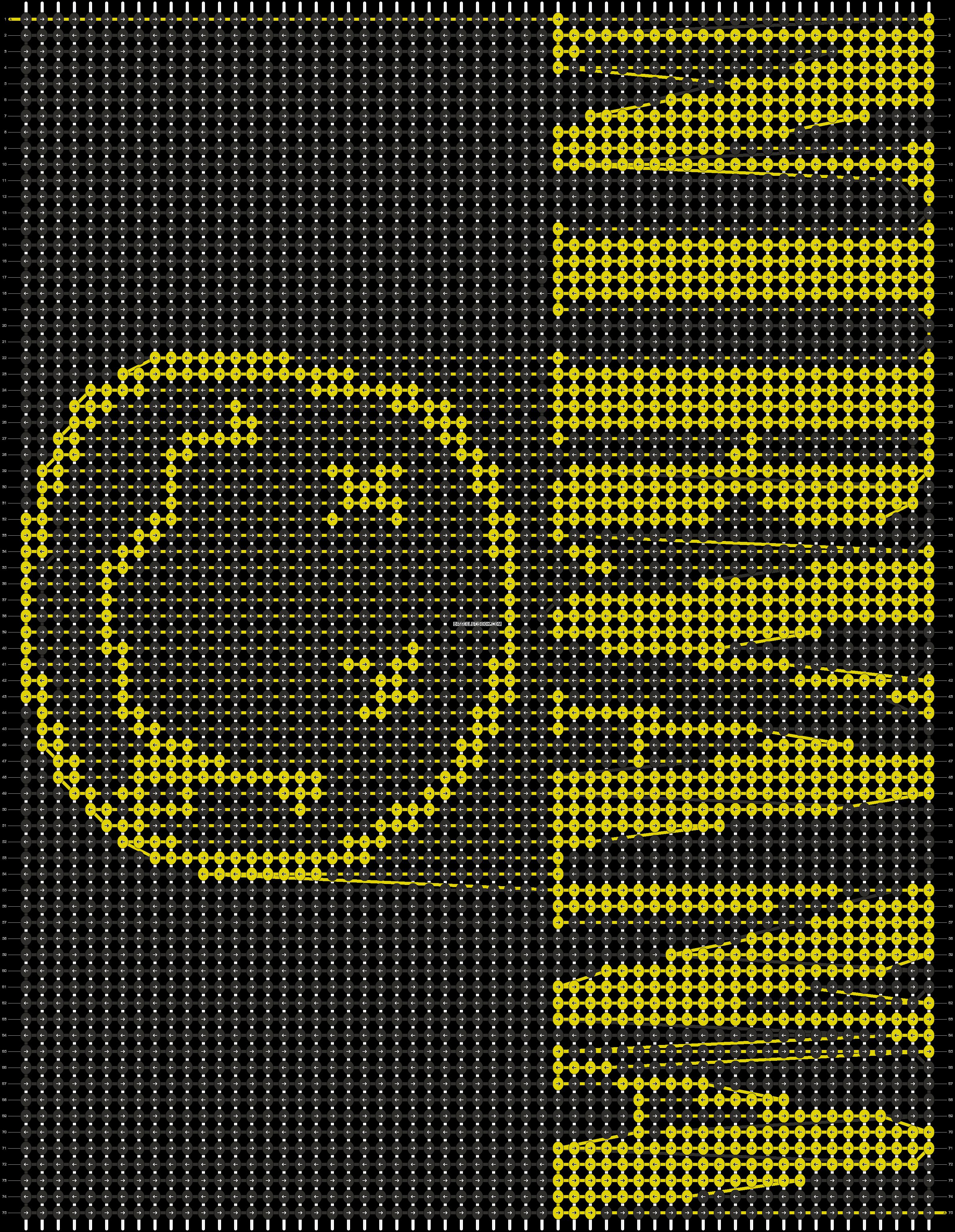 Alpha pattern #12443 pattern