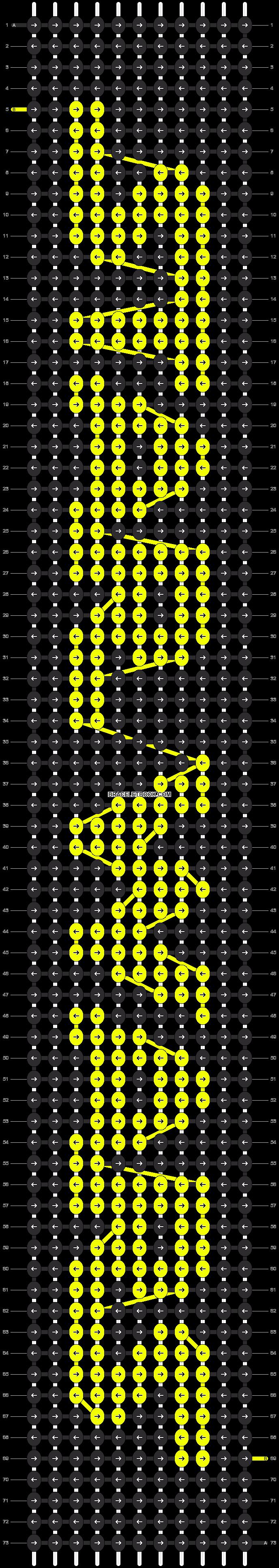 Alpha pattern #12445 pattern
