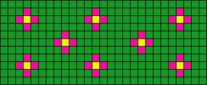 Alpha Friendship Bracelet Pattern #12451