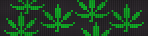 Alpha Friendship Bracelet Pattern #12456