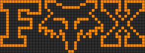 Alpha Friendship Bracelet Pattern #12457