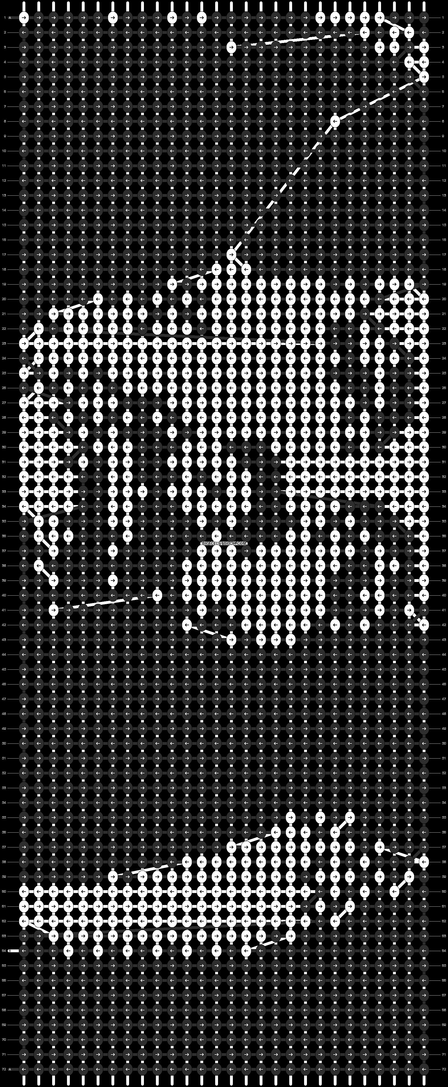 Alpha pattern #12459 pattern