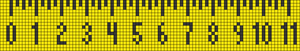 Alpha pattern #12460