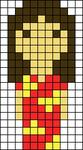 Alpha pattern #12468