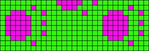 Alpha Friendship Bracelet Pattern #12472