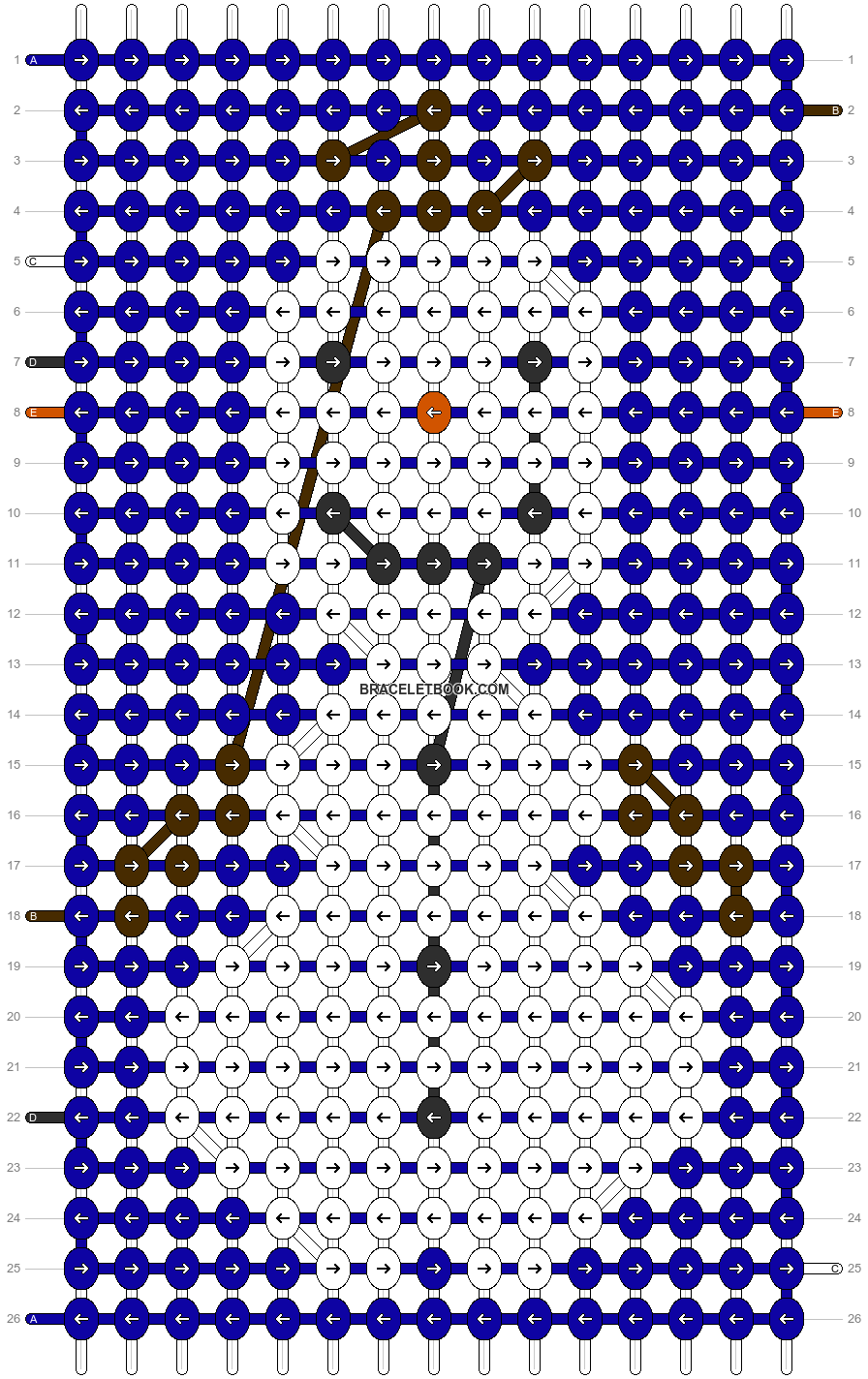 Alpha pattern #12473 pattern