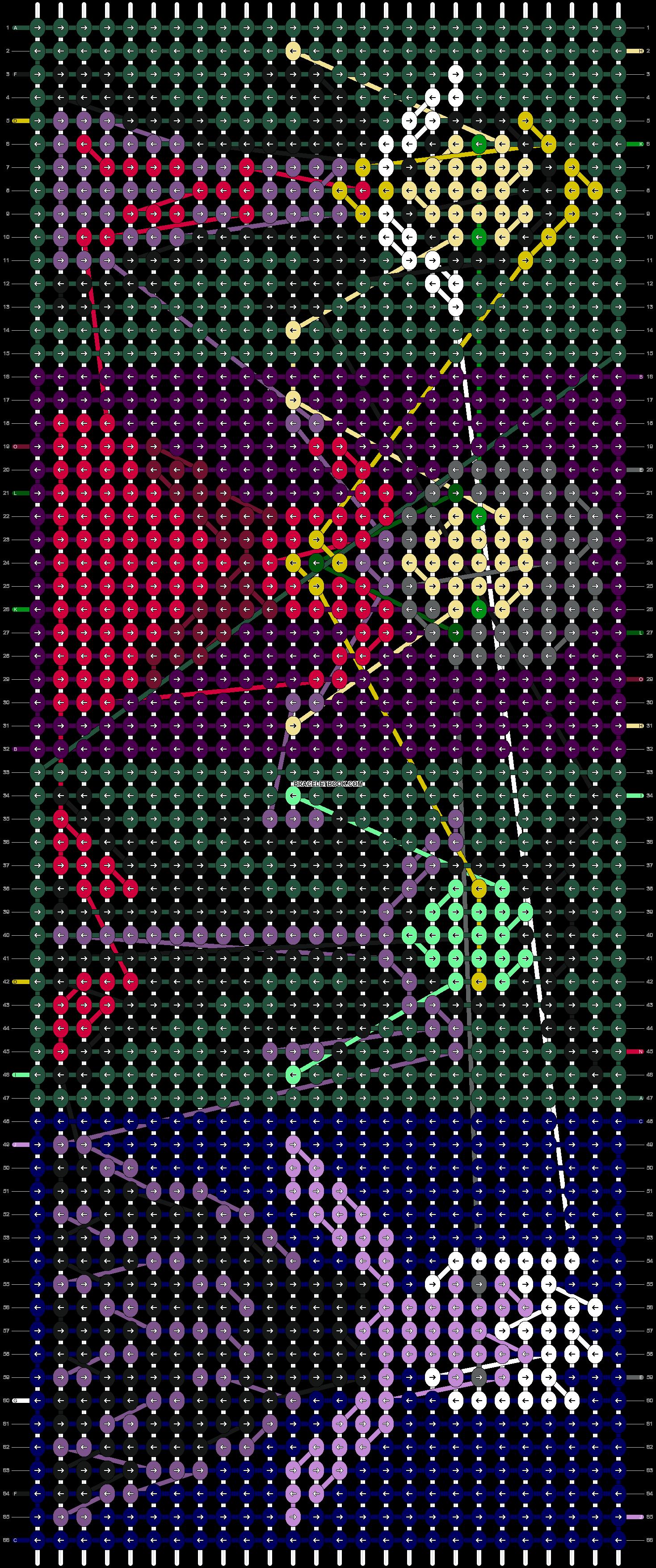 Alpha pattern #12482 pattern