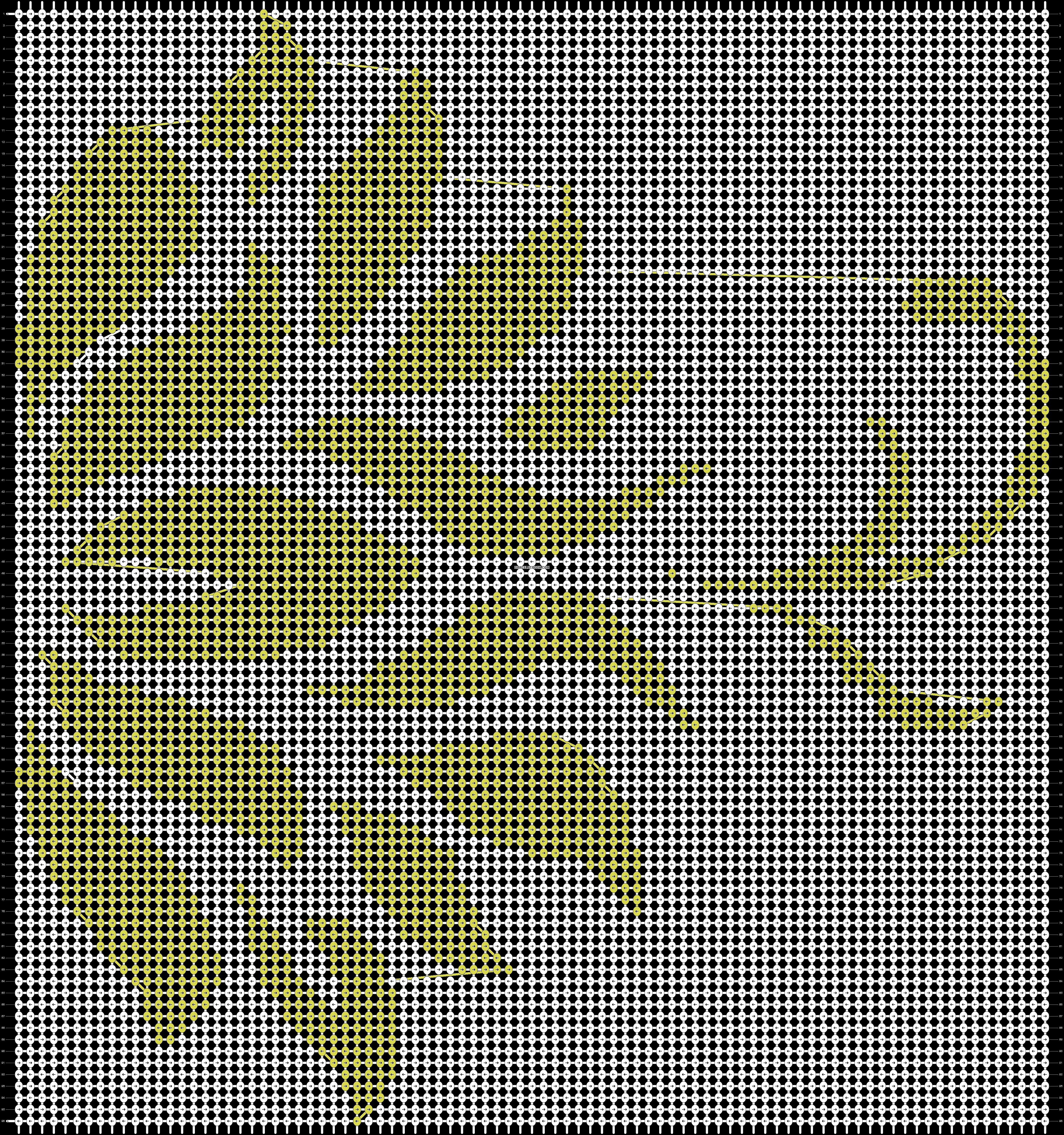 Alpha pattern #12489 pattern