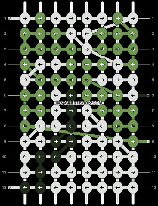 Alpha pattern #12490 pattern