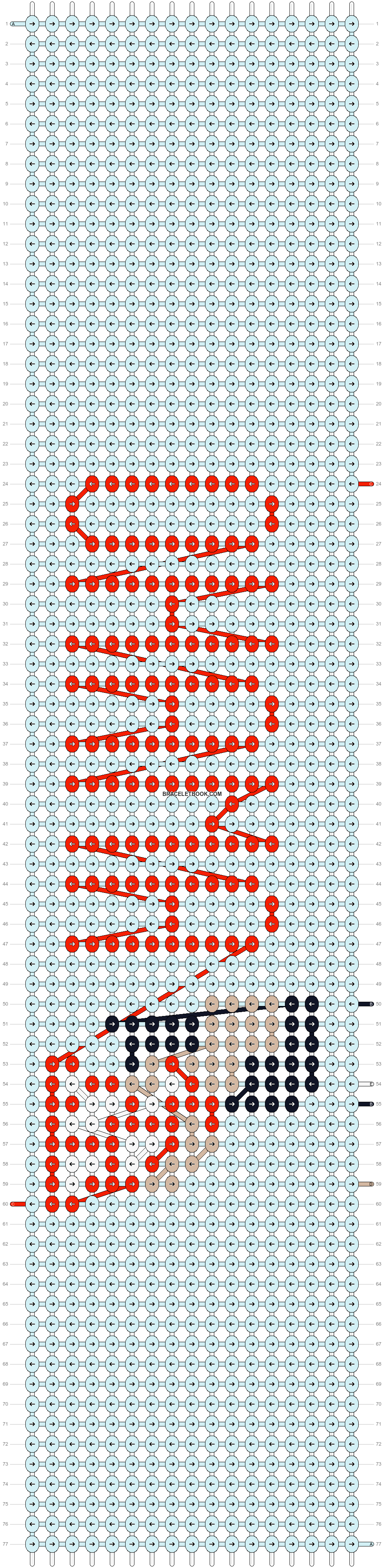 Alpha pattern #12491 pattern