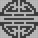 Alpha pattern #12501