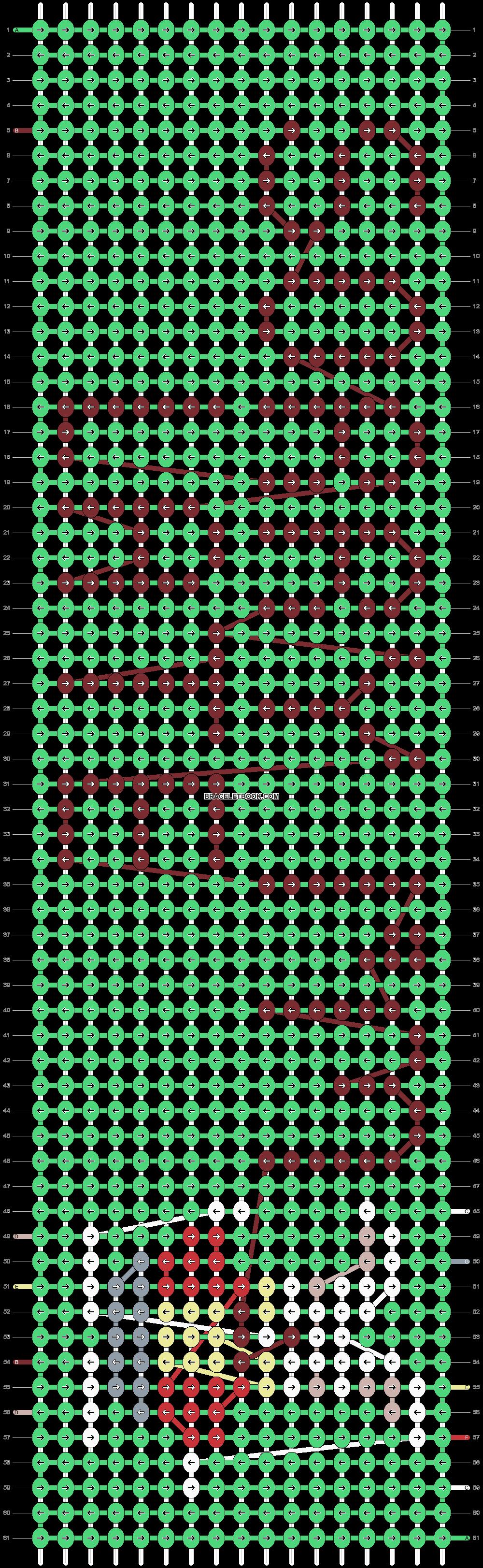 Alpha pattern #12507 pattern