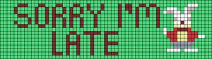 Alpha pattern #12507