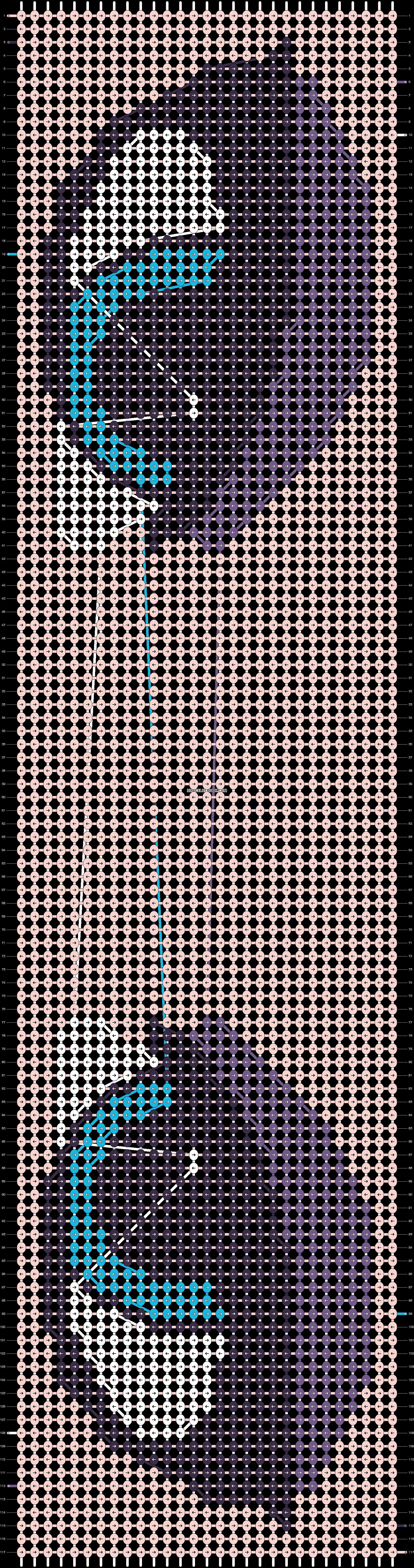 Alpha pattern #12514 pattern