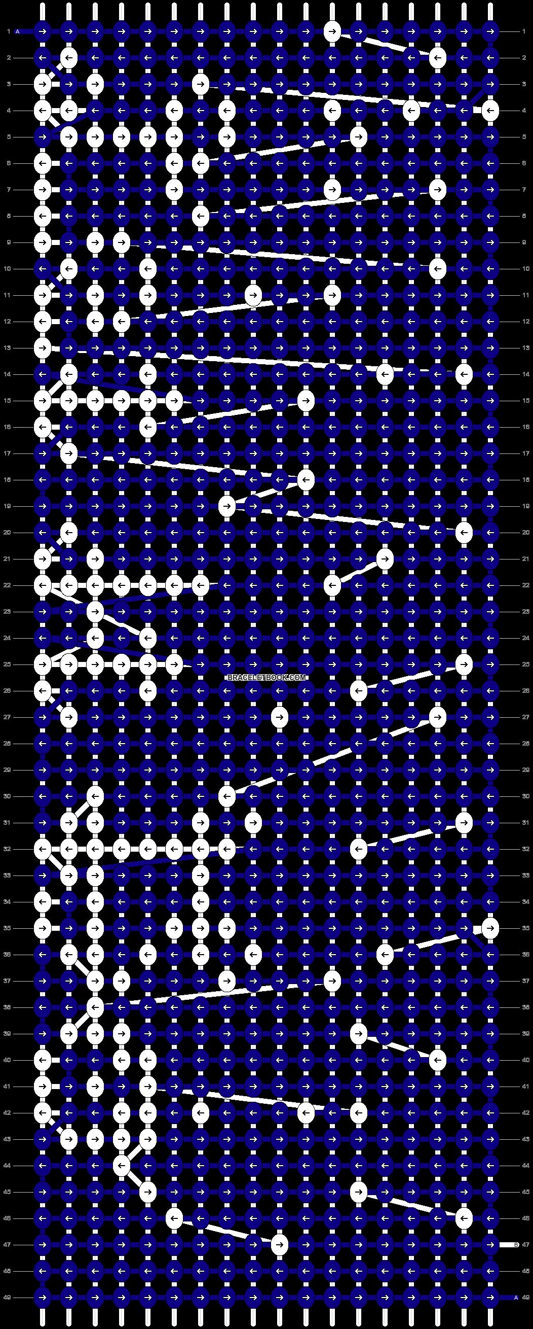 Alpha pattern #12515 pattern