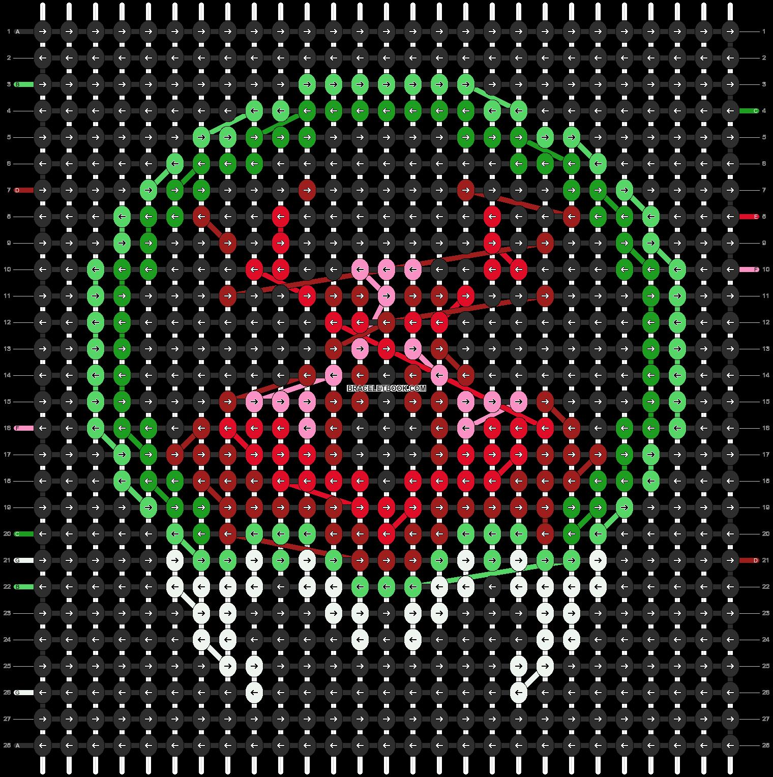 Alpha pattern #12518 pattern