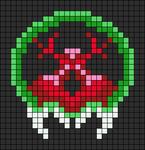Alpha pattern #12518