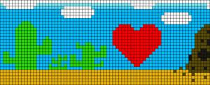 Alpha Friendship Bracelet Pattern #12520