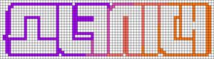 Alpha pattern #12529