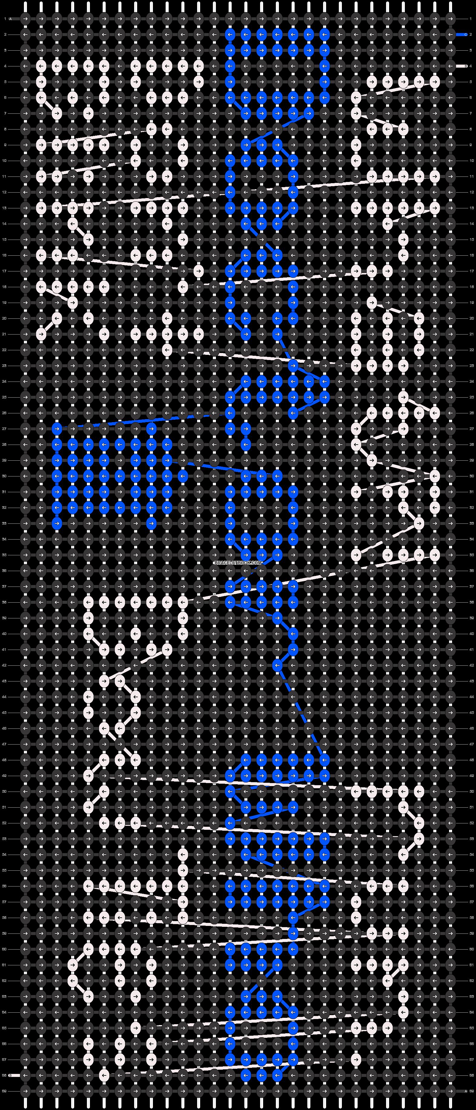 Alpha pattern #12547 pattern