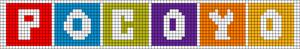 Alpha pattern #12548