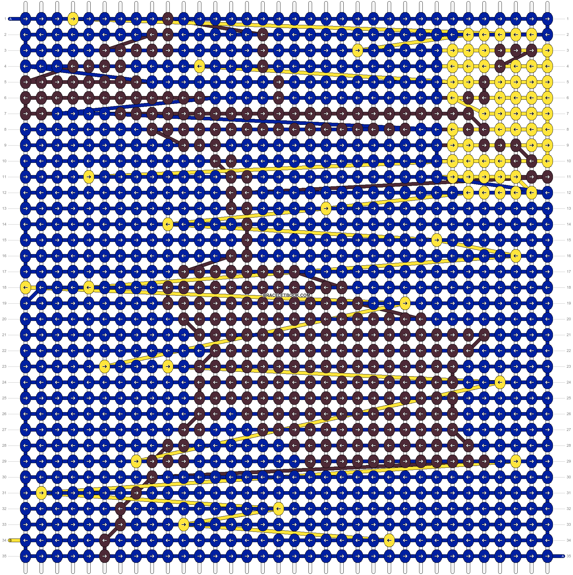 Alpha pattern #12550 pattern
