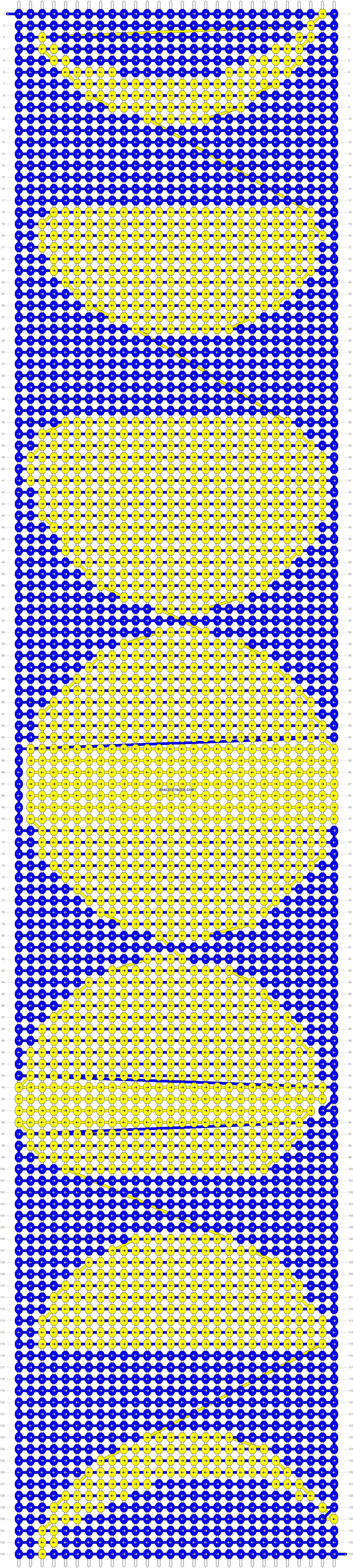 Alpha pattern #12551 pattern