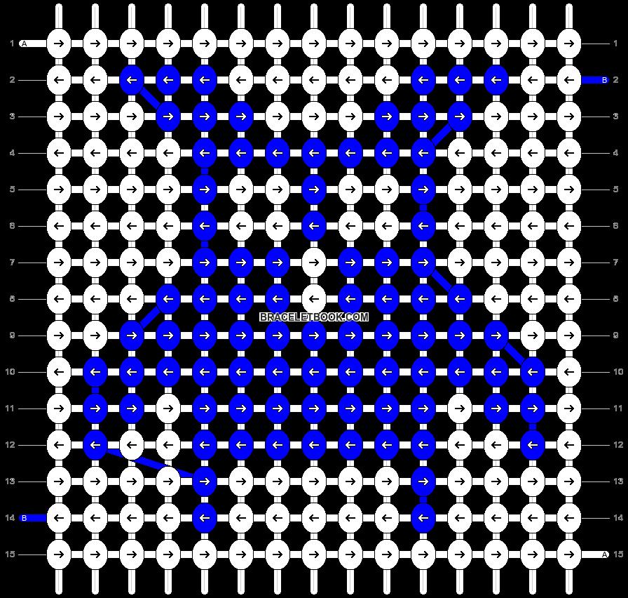Alpha pattern #12552 pattern