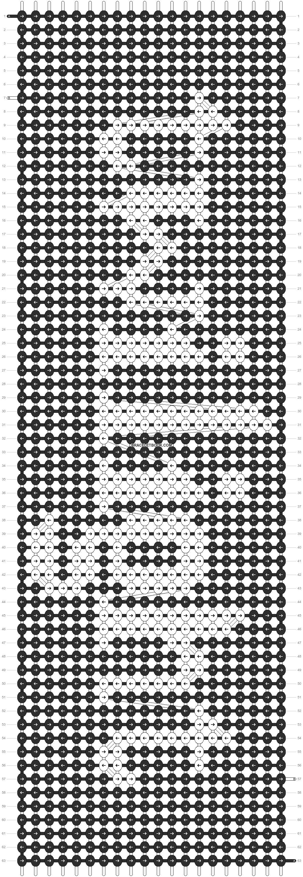 Alpha pattern #12556 pattern