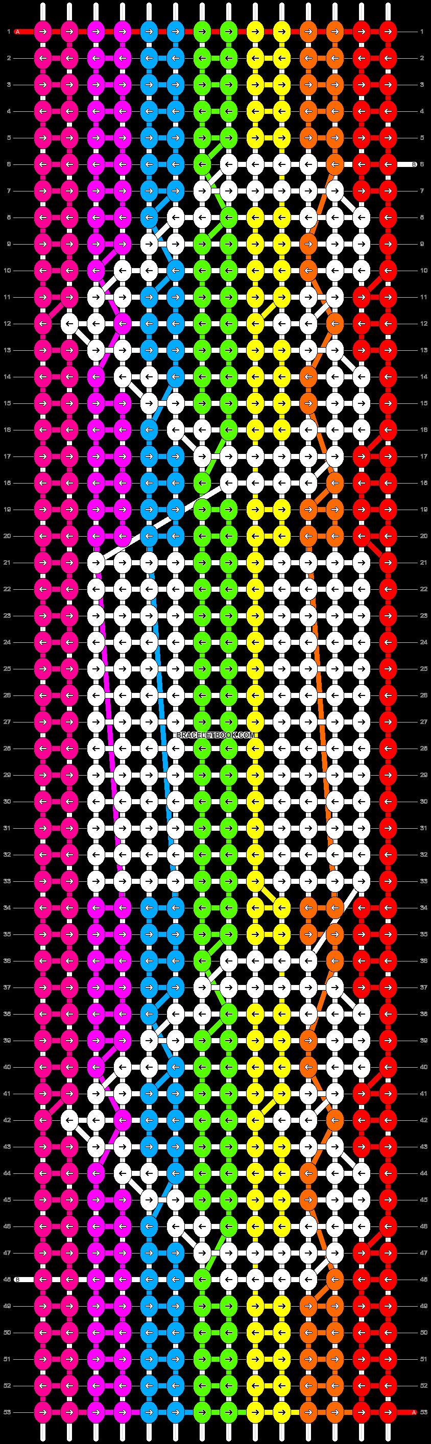 Alpha pattern #12560 pattern