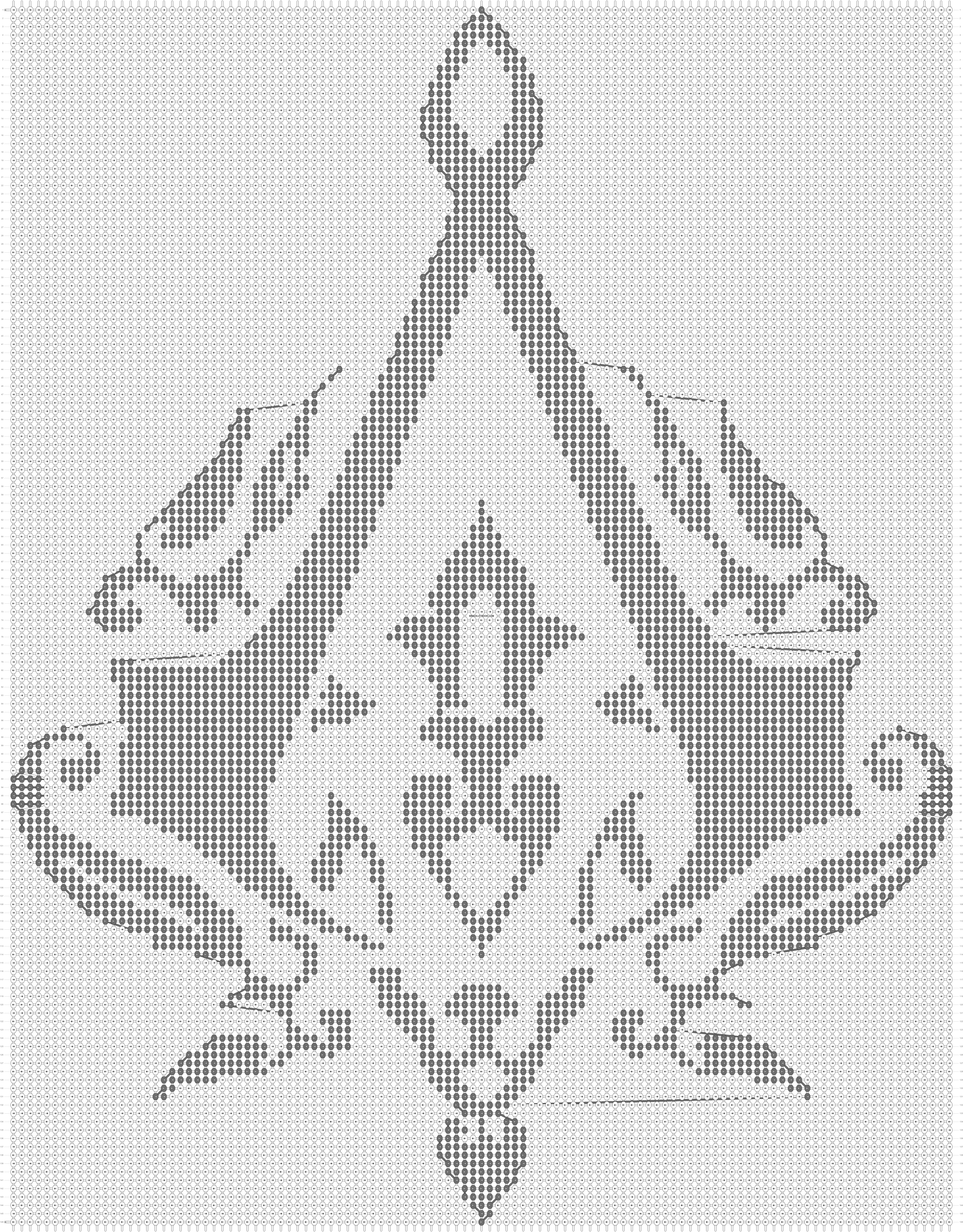 Alpha pattern #12562 pattern