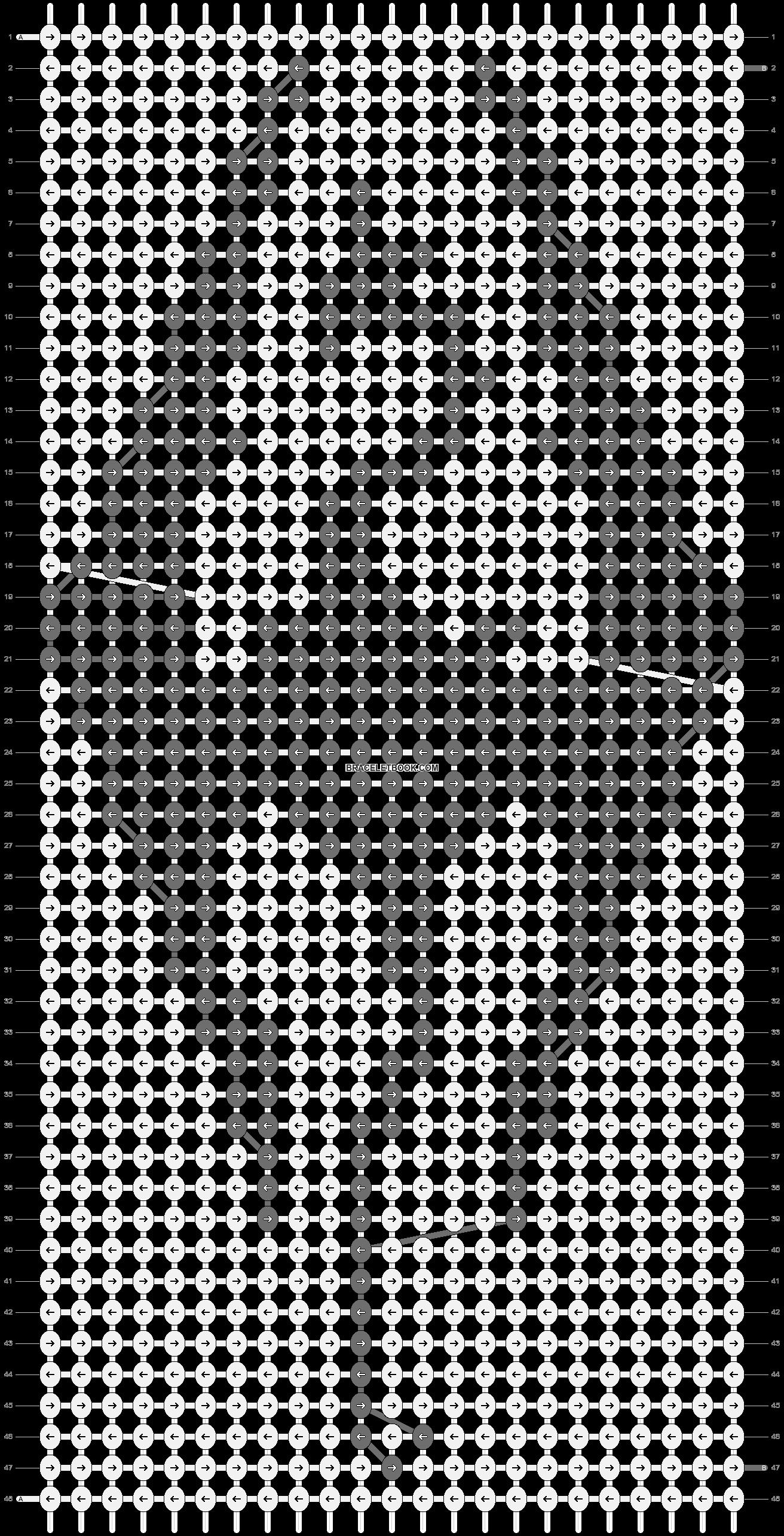Alpha pattern #12563 pattern