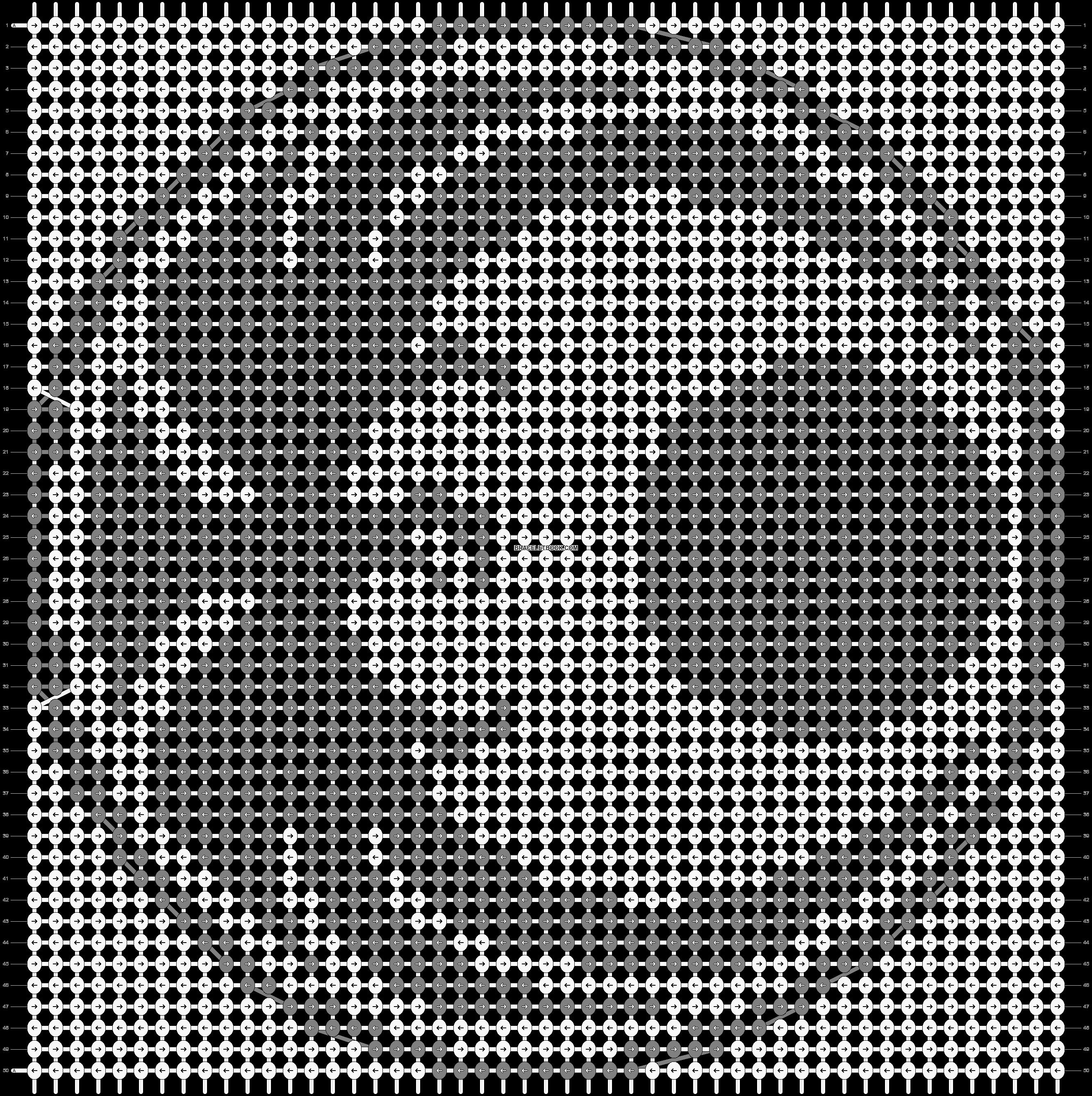 Alpha pattern #12564 pattern
