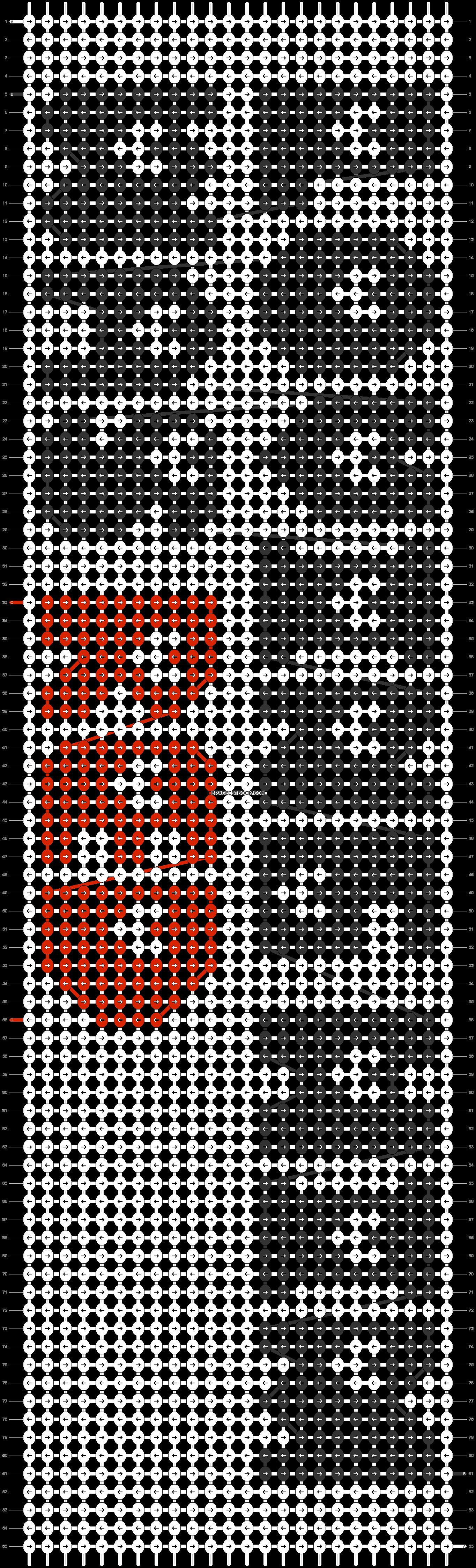 Alpha pattern #12569 pattern