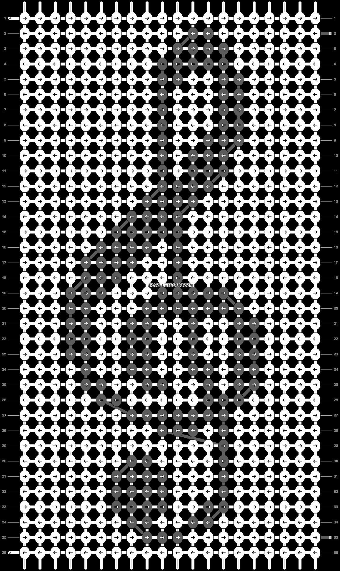 Alpha pattern #12572 pattern