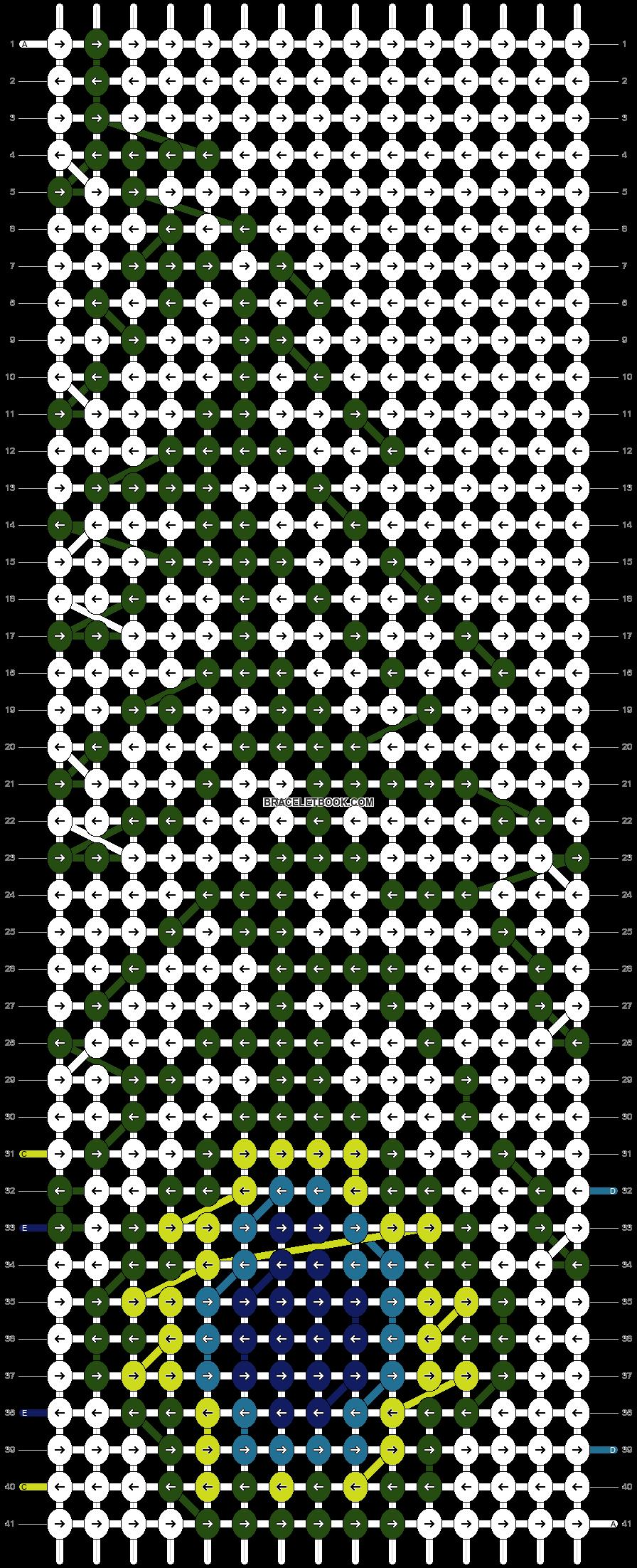 Alpha pattern #12574 pattern