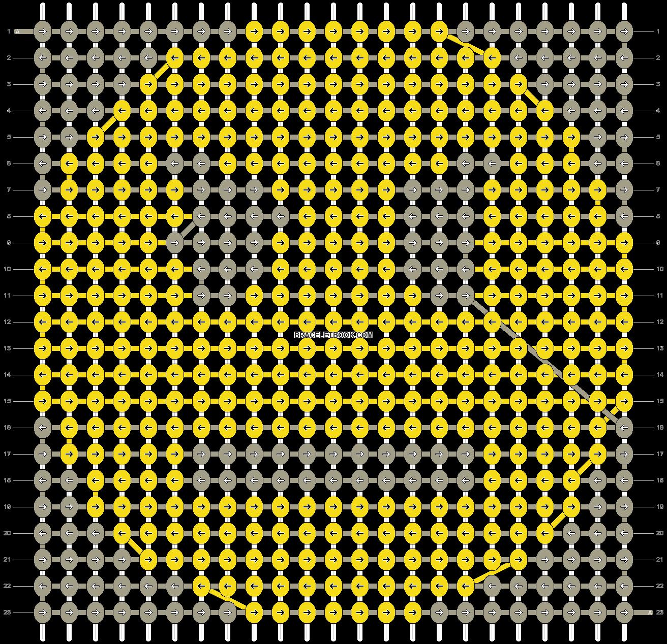 Alpha pattern #12577 pattern