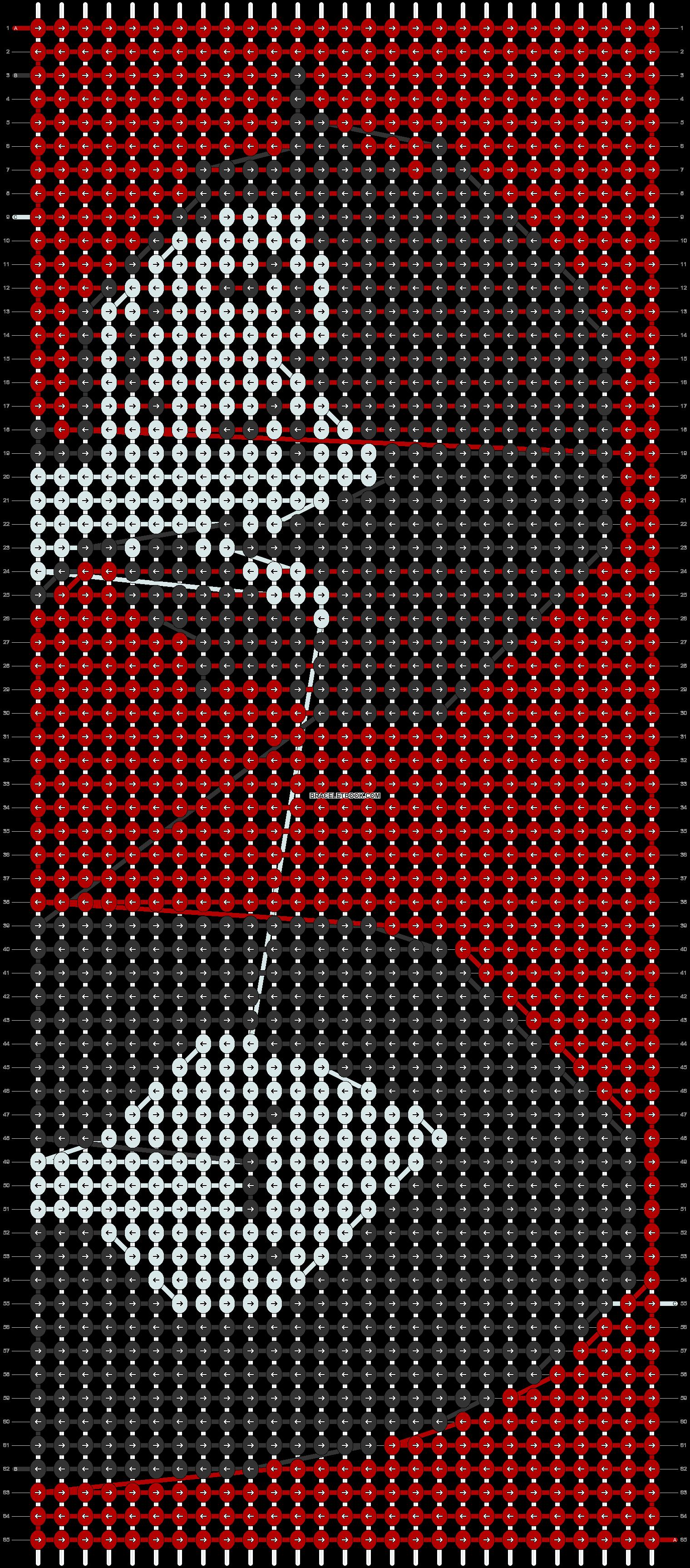 Alpha pattern #12578 pattern