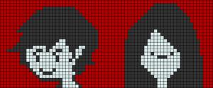 Alpha pattern #12578